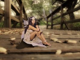 Fairy in the Petrified Forest by Myriadelle