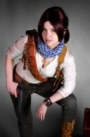 Uncharted 3 cosplay rule 63 Nathan Drake by LadyofRohan87