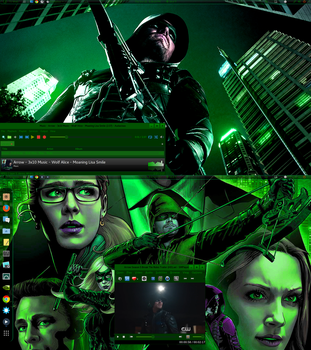 Arrow - TV show Wednesday  by TJ-Wolf