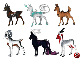 .:AK: Aro'Kai Fundraiser Adoptables ! (CLOSED):. by Goddess-of-BUTTSECKS