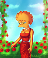 Sad Lisa by MissFuturama