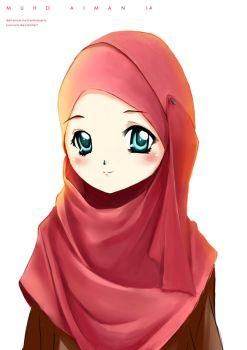 Random Muslimah 6 by kuzuryo