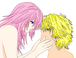 Marluxia and Roxas by Denomica-Mystique