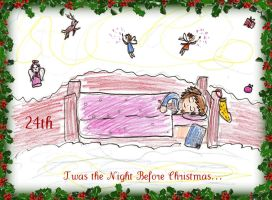 December 24th, T'was The Night Before Christmas by Xx-Angel-Sherubii-xX