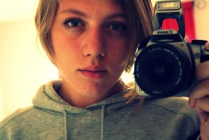 Me and My Camera by darkrose100