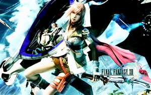 Final Fantasy XIII Wallpaper B by CrossDominatriX5