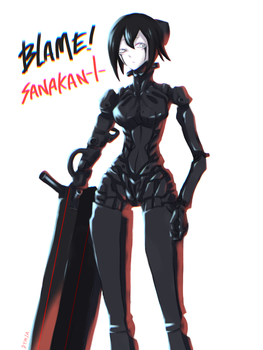 Sanakan from 'Blame!' movie by DYMIAD