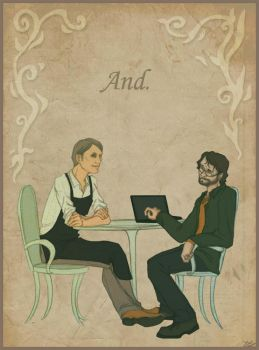 Hannibal - Coffee Shop AU - And. by Schu-was-here