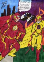 Menace of the Reverse Flash by GoroKai