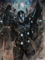 Applibot_Galaxy Saga_Commander_Evolve by chrisnfy85