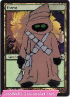 Altered Magic Card: Jawa by JessWells