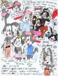The Warners Three [Animaniacs Collage For Fan Art] by Josiah-Shockency-JCS