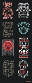 Americans and their guns 2 by grazrootz