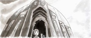 In Wonderment of the Basilica by Meam-chan