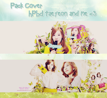 [9314]Pack Cover Happy Birthday to Taeyeon and me by zinnyshs