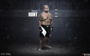Mark Hunt Heavyweight division by MMASportWall1982