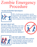 Zombie Safety by CaptainInvincible