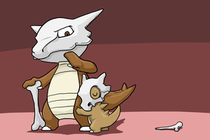 The Cubone Family by Zerochan923600