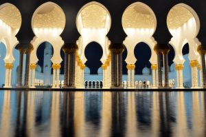 Grand Mosque Reflections by suffer1