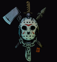 Friday the 13th Jason Voorhees by maxman58