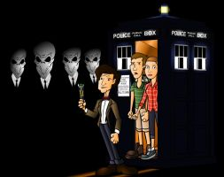 Doctor who The Silence by CPD-91