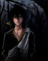Fairy Tail - Black Mage Zeref by ShadowDragon22
