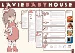 lavie baby house infographic by fajar-rizky