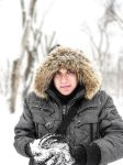Me at park by Marianna9 by VitalyBelskih