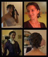 Semi-Victorian Hairstyle by Durnesque