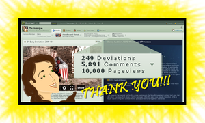 10000 Page Views by Durnesque