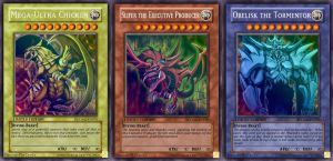 Yugioh Abridged God Cards by chdmann