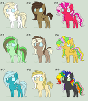 MLP Adopts! (Closed) by nomenclaturewaggle