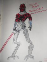 Darth Maul Revealed: Star Wars the Clone Wars by AbbyCatWolff