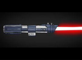 Sci Fi Set 6 - Darth Vader's Lightsaber by resresres