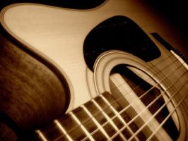 Guitar by calavene