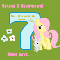 MLP Season 2 Countdown 7 DAYS by TuliothePillbug