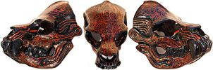 Miss Monster Beast Skull Mask by Felissa