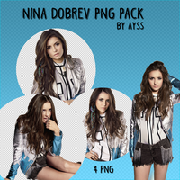 Nina Dobrev PNG Pack By Ayss by TheAyss