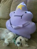 Lumpy Space Plush by NuclearMime
