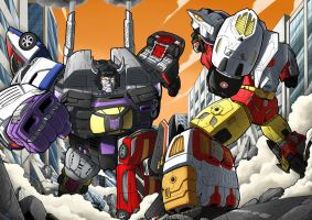 COMBINER WARS! by MAD-project
