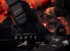 Devil May Cry 3 - Dante by XxJokerxX