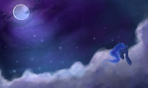Night Sky by Melon-Drop