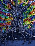 Arbre mystique- Mystic tree by Gabolinator