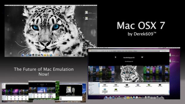 Mac OSX 7 Snow Leopard by Derek609