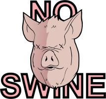 No Swine by Isa81