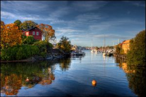 The canal by Chribba