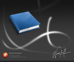 Book Icon by dellustrations