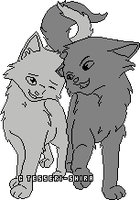 Young Love Free Cat Pixel by Nova-Nocturne
