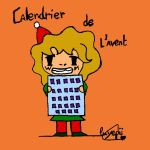 Calendrier de l'avent by Luyepii
