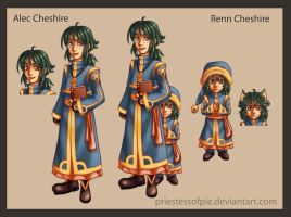 Alec and Renn Cheshire by priestessofpie